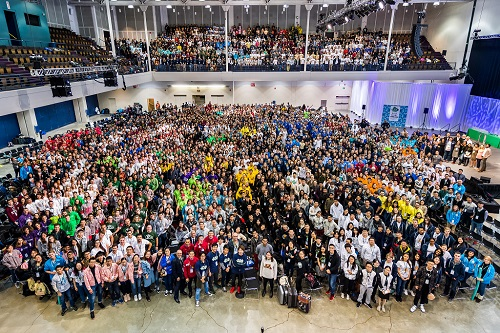 Group picture at iGEM Jamborree 2016