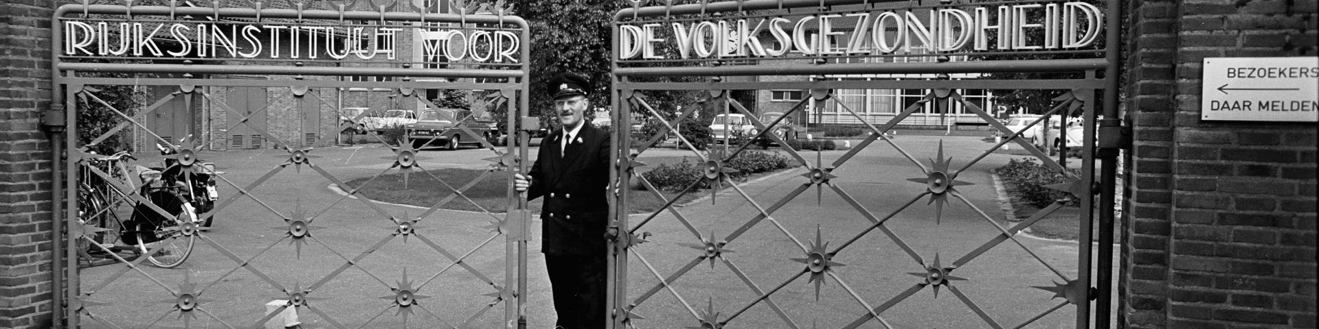 RIVM Gate Bilthoven in the fifties