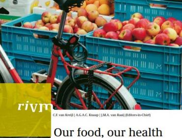Cover RIVM report Our food, our health
