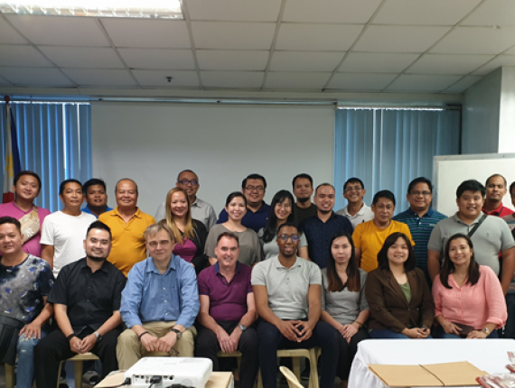 Participants Climate Resilient Water Safety Plan workshop Philipines 2019