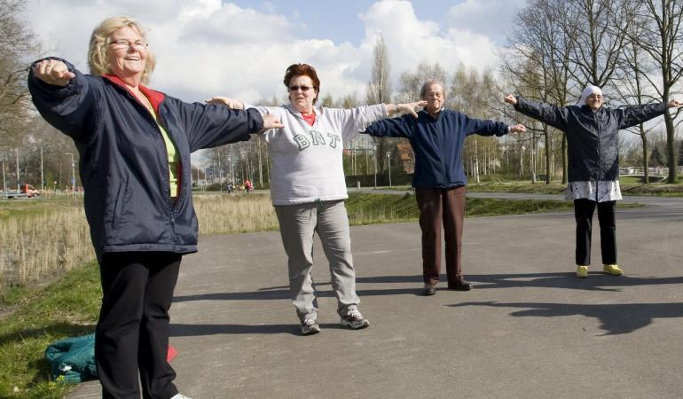 handvatten om meer ouderen te bereiken met preventieve activiteiten