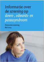 Afbeeldingsresultaat voor Informatie over de screening op down-, edwards- en patausyndroom