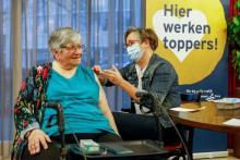 Eerste effecten vaccinatie zichtbaar onder bewoners verpleeghuizen
